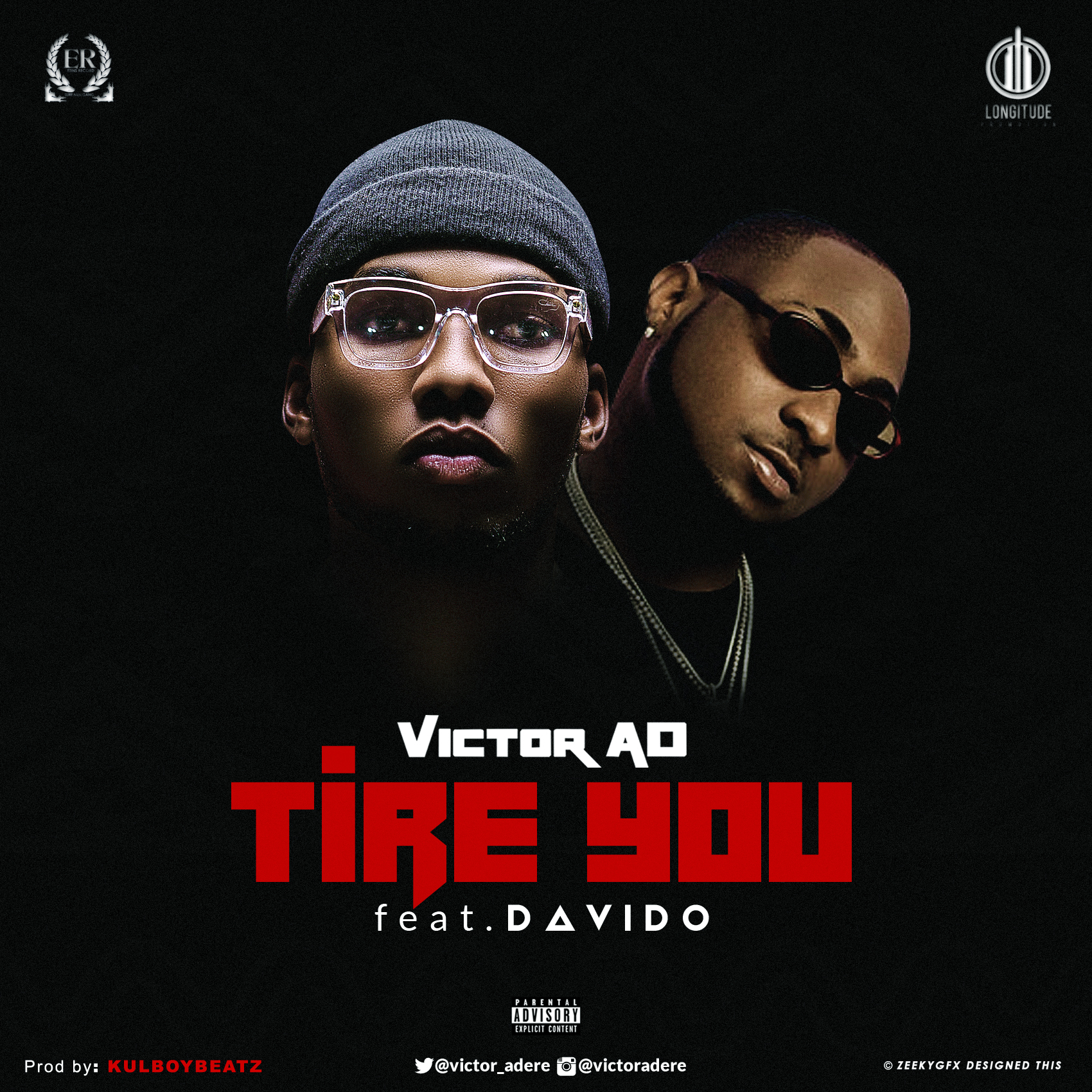 DOWNLOAD MP3: Victor AD Ft  Davido - Tire You |LagosHighLyf